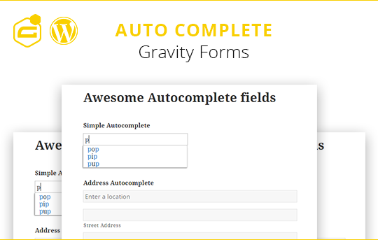 Gravity Forms Auto Complete