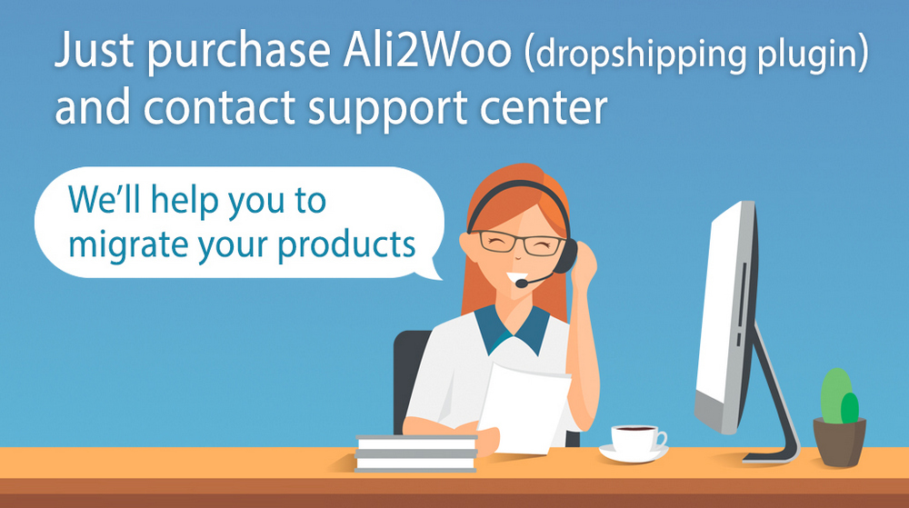 migrate from alidropship
